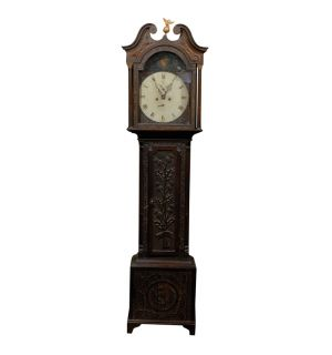 19thc Scottish Grandfather Clock