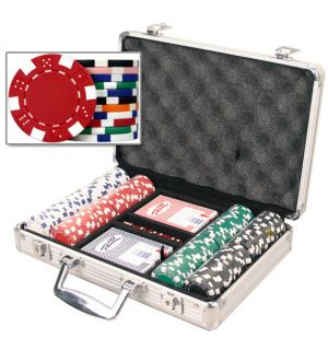 Dice Poker Chip Set