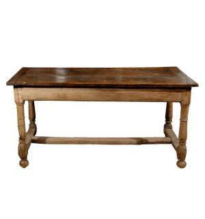 19th Century Farm Trestle Table