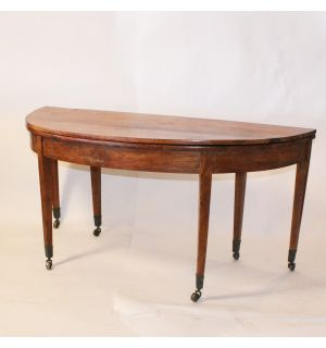 19th C Demi Lune Console