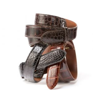 "1 1/8"" Alligator Belt Strap"