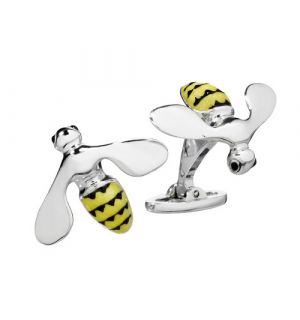 Triumphant Bee Cuff Links