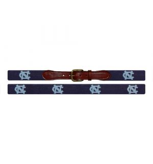 North Carolina (Navy) Needlepoint Belt