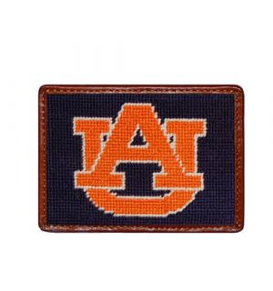 Auburn Needlepoint Card Wallet