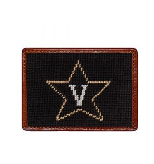 Vanderbilt Needlepoint Card Wallet
