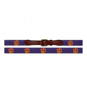Clemson Needlepoint Belt