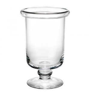 Blair Pedestal Glass Hurricanes