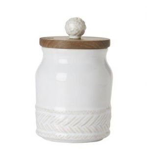 Le Panier Whitewash Sugar Pot