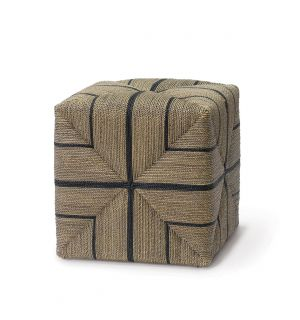 Fitz Rope Ottoman