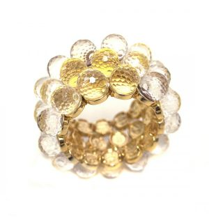 Faceted Balls Napkin Ring