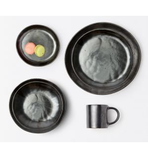 Black Glaze Dinnerware