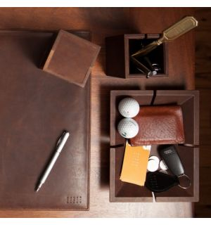 Desk Accessories Baldwin Oak