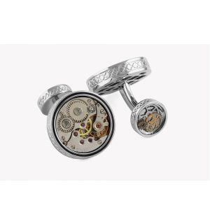 Skeleton Industrial Cufflinks