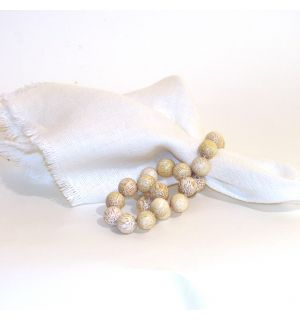 Coco Beaded Napkin Ring