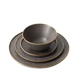 Gold Stone Dinnerware
