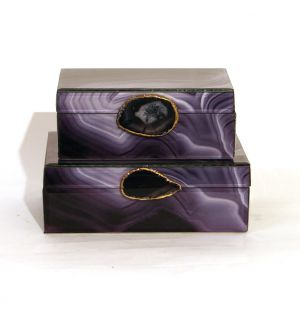 Agate Lacquered Box