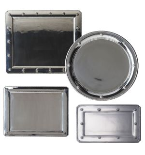 Berry & Thread Metalware Trays