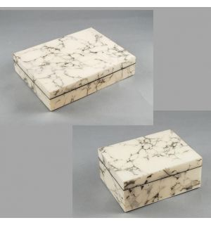 Cream Carrara Boxes