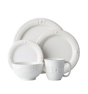 Berry & Thread French Panel Whitewash Dinnerware