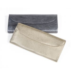Jewelry Roll  Metallics Leather
