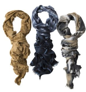 DOUBLE KNOT SCARVES