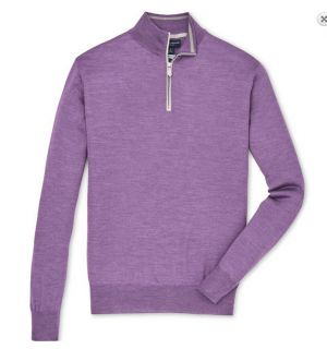Merino Silk Quarter Zip