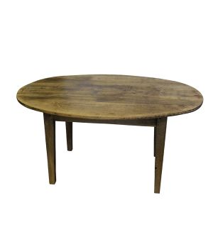 18th C Oval Dining Table