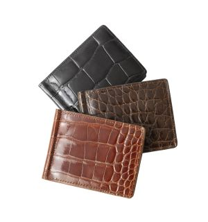 Alligator Money Clip Wallet